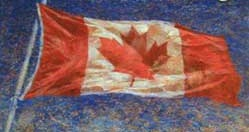 Brian Deines Canadian flag