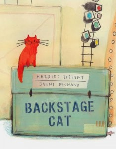 Backstage Cat cover