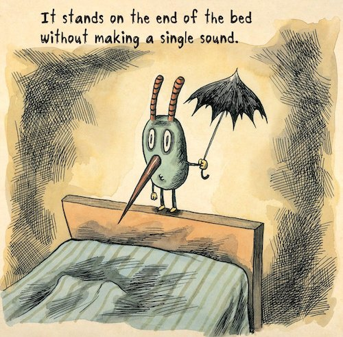 Liniers umbrella guy