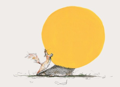Mr Squirrel and the Moon big cheese