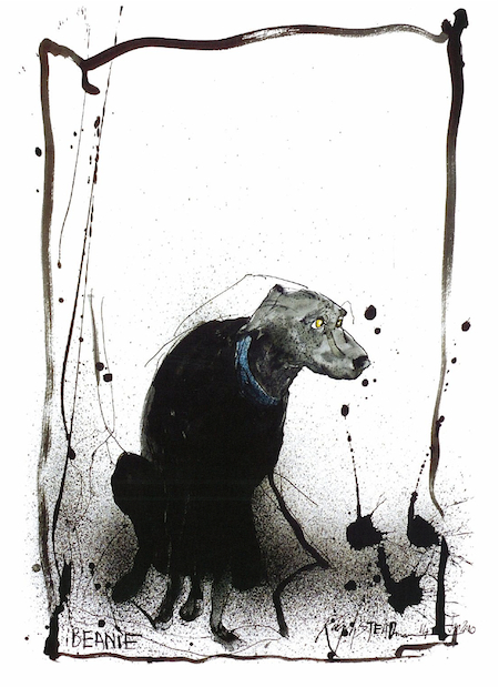Ralph Steadman Book of Dogs Beanie